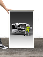 Cosmic Motors™ Limited Edition Prints: Camarudo 01