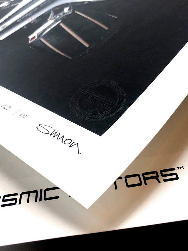 Cosmic Motors™ Limited Edition Prints: Gravion 01