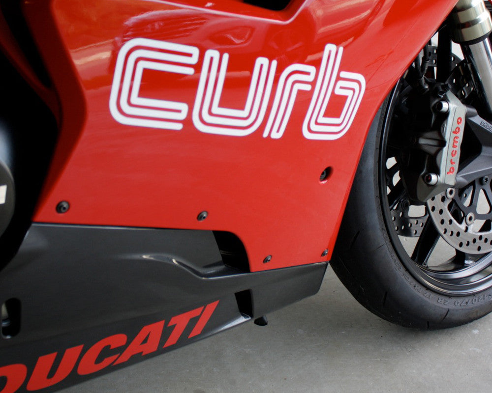 "12"" Curb Decals"