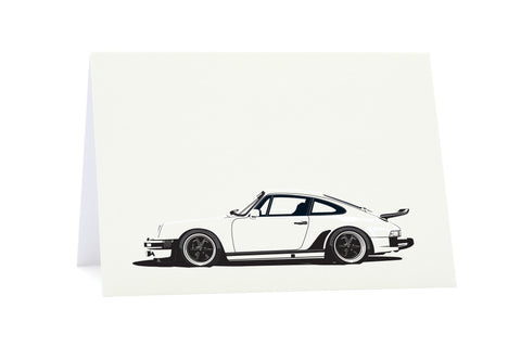 911(930) Turbo Greeting Card