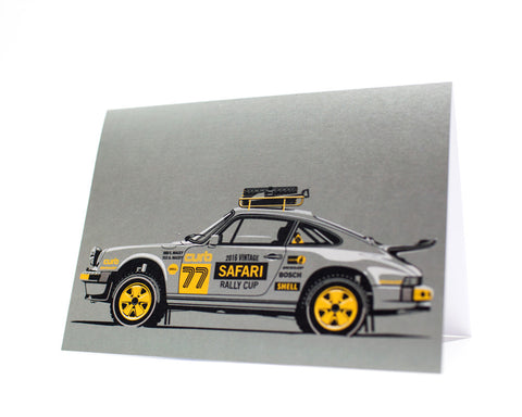 911 Safari Greeting Card by Curb