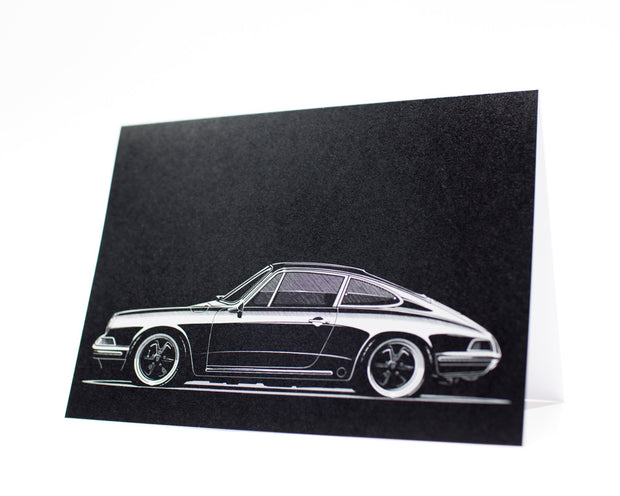 911 Greeting Card by Curb