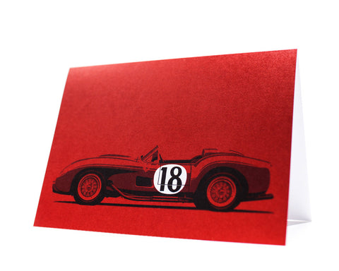 Testa Rossa Greeting Card by Curb