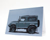 LR90 Defender Greeting Card by Curb