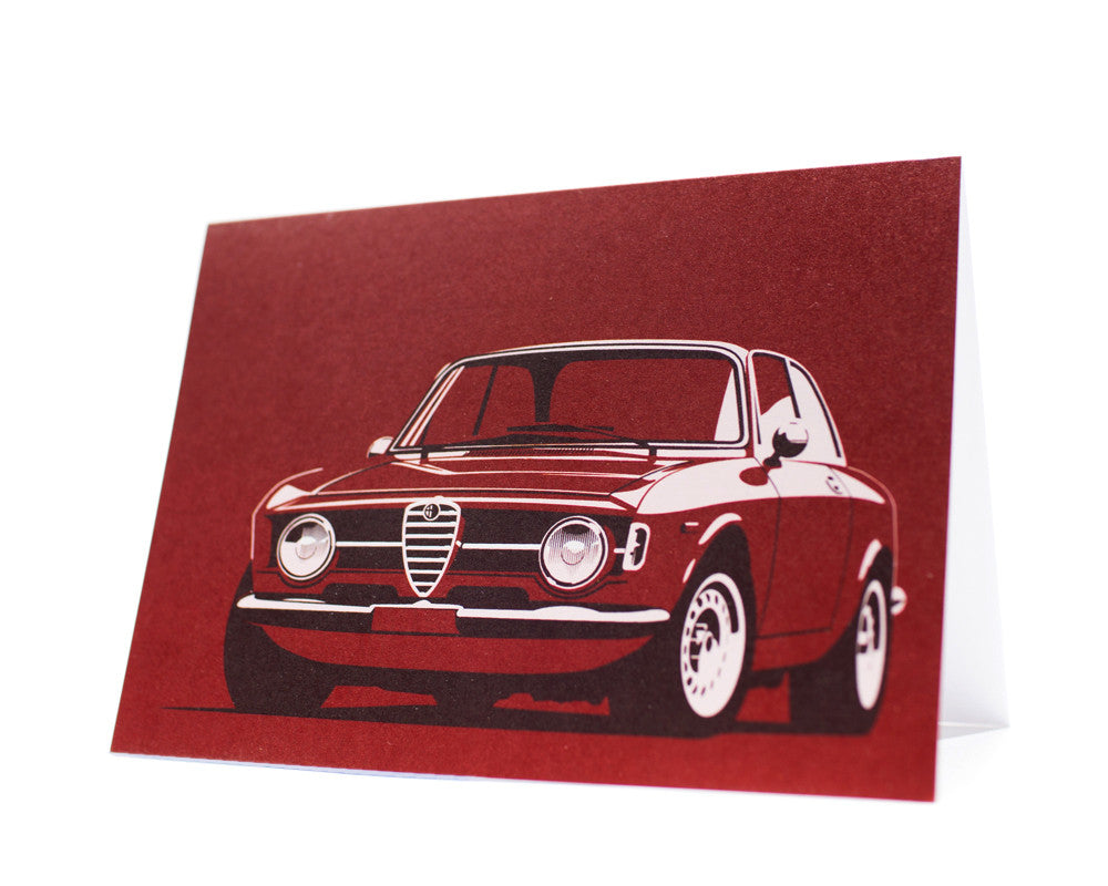 Giulia Sprint Greeting Card by Curb