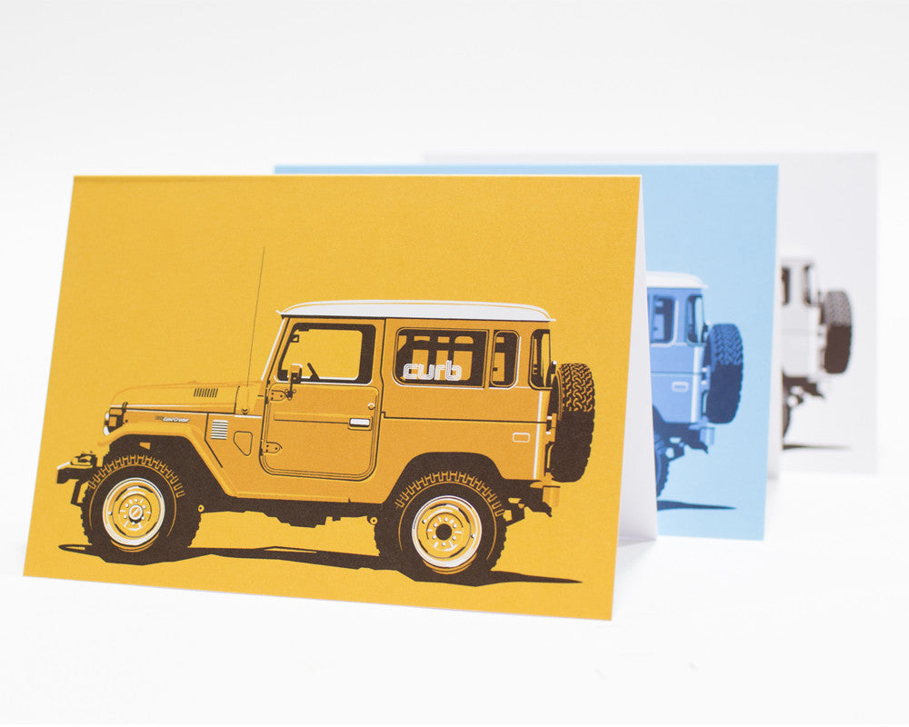 J 40 Greeting Card by Curb