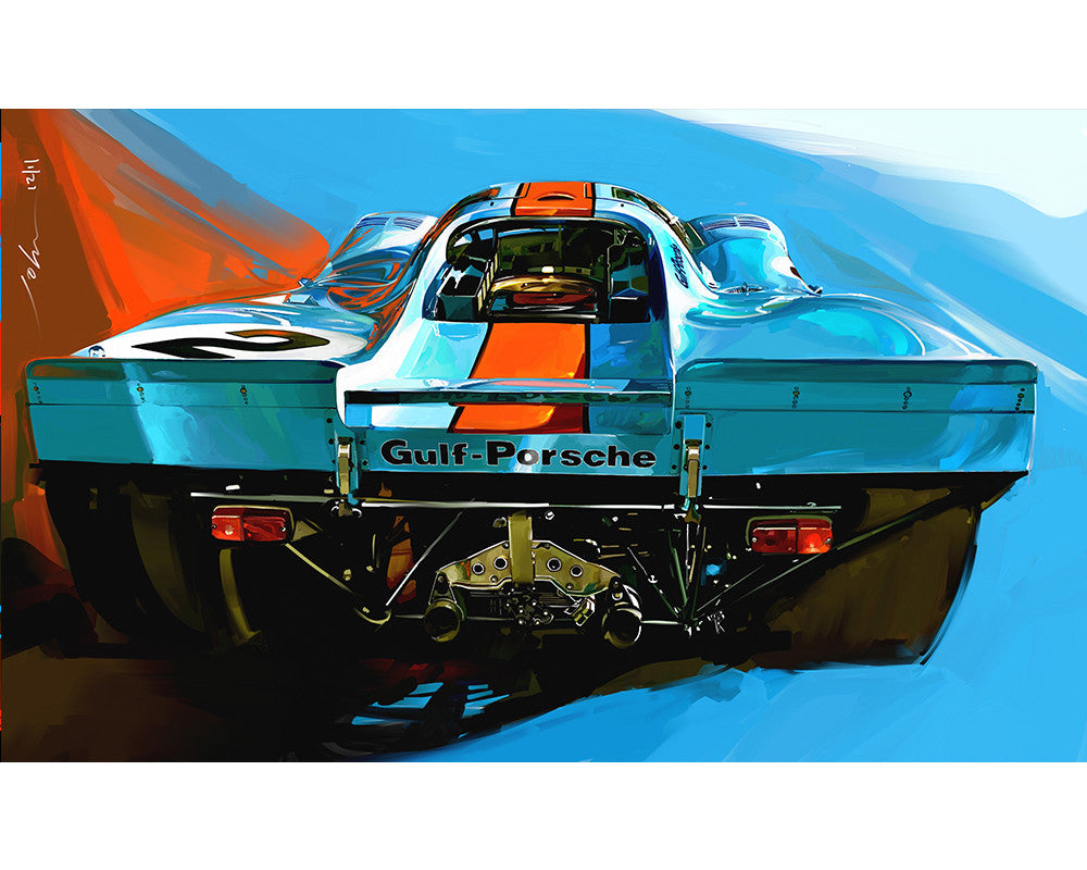 John Krsteski 917 Gulf #2 Rear