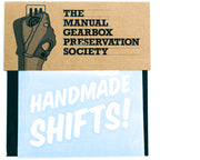 Handmade Shifts! Vinyl Decal