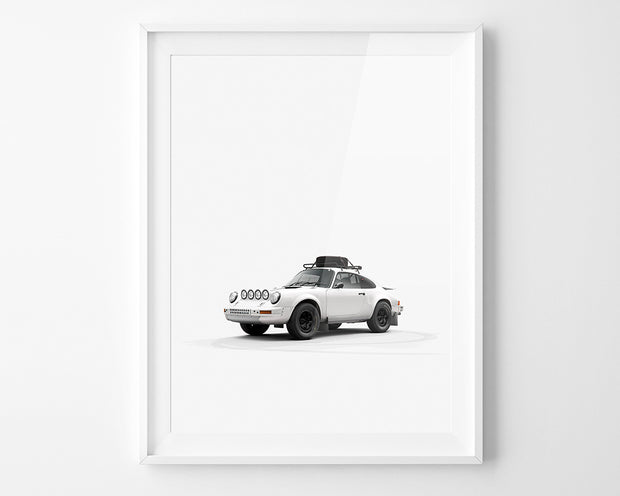 911 Rally Plain Bodies Print by INK (front)