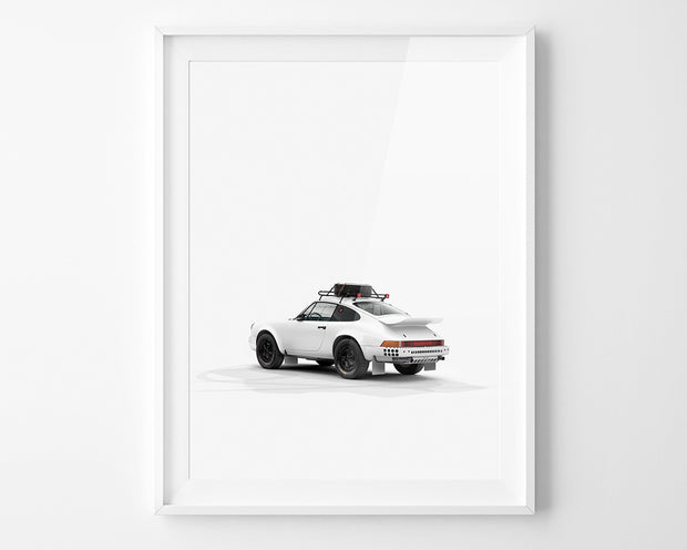 911 Rally Plain Bodies Print by INK (Rear)