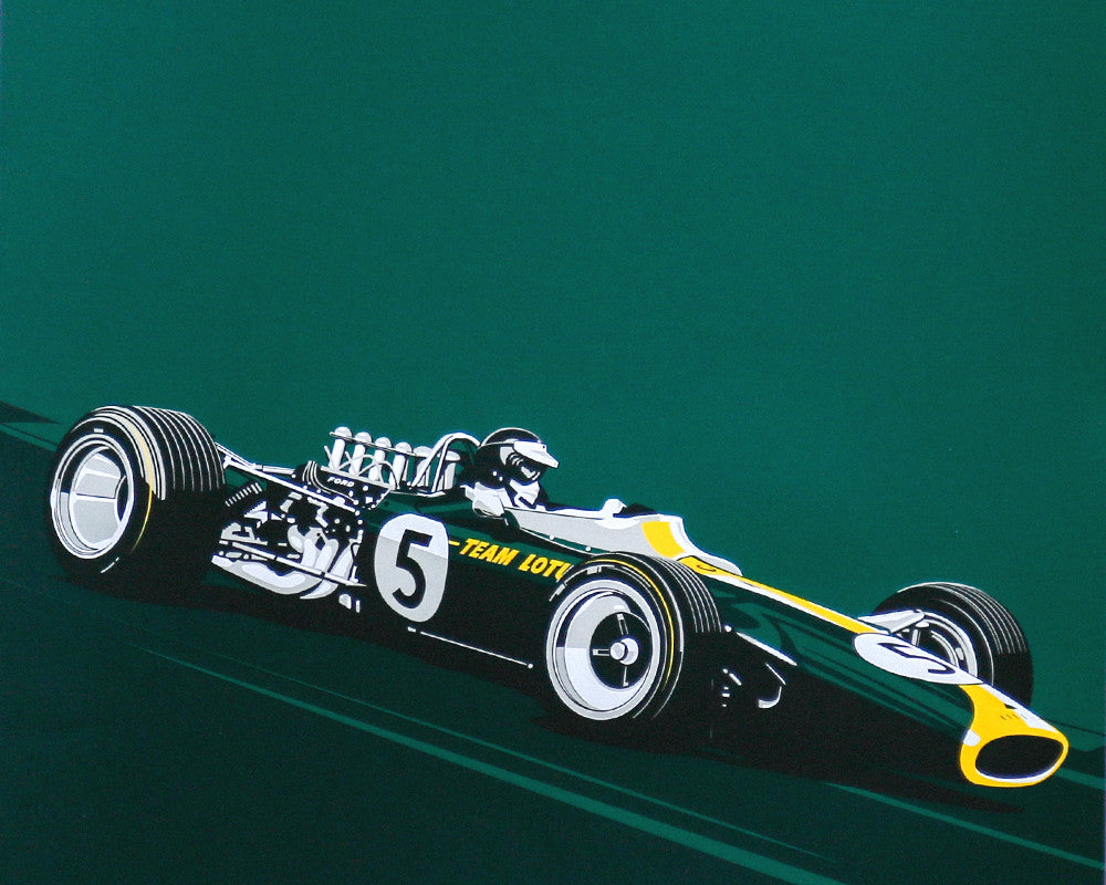 LEGENDS NEVER DIE - #003 Jim Clark