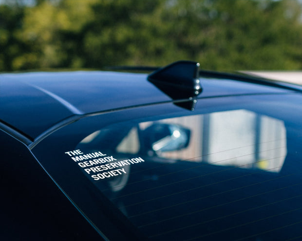 TMGPS Stacked Vinyl Decal