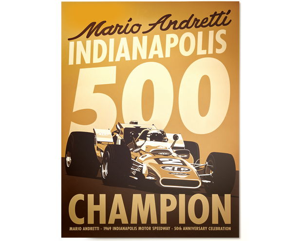 Mario Andretti - Champion - Limited Edition Print