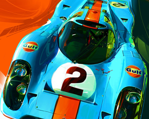 John Krsteski 917 Gulf #2 Top