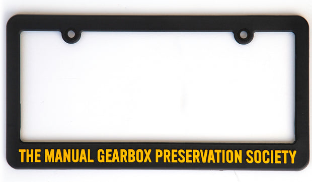 TMGPS License Plate Frame