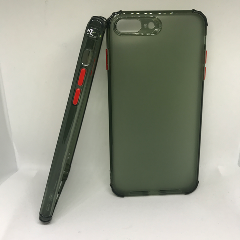 Green Transparent Case