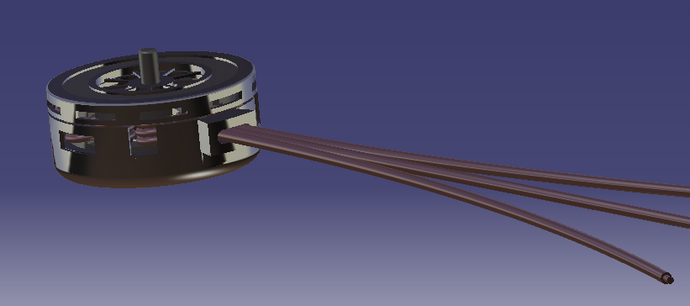 Axial Flux Brushless Motor