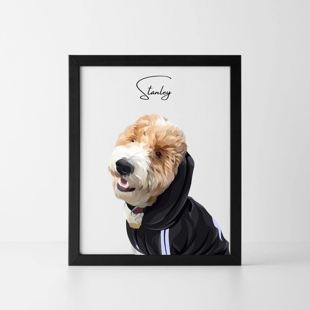 Custom Pet Portraits - PRINT NEST