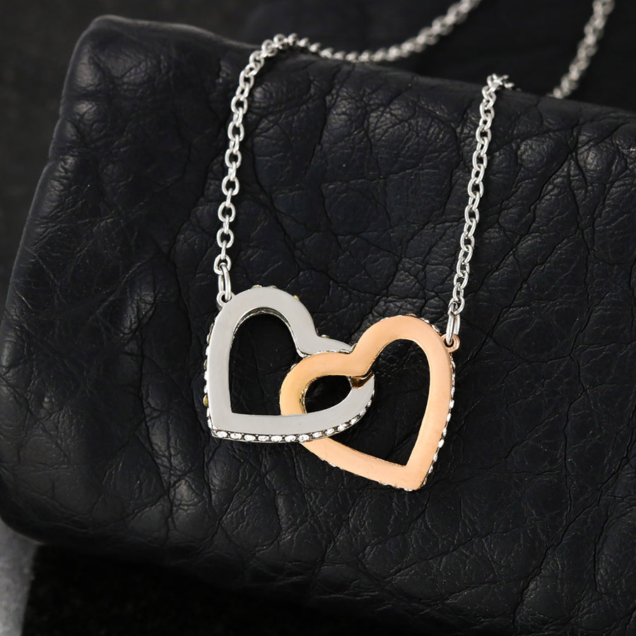 Alice Interlocking Heart Necklace (Daughter)