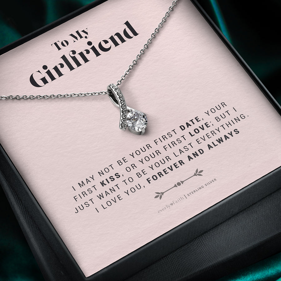To My Girlfriend, Forever and Always Necklace