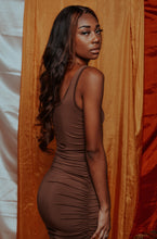 Load image into Gallery viewer, Bare Mocha Dress