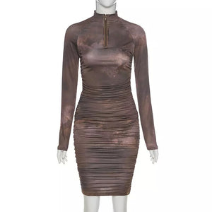 Chocolate Swirl Dress