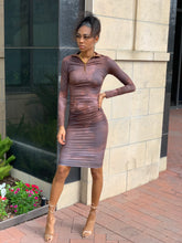 Load image into Gallery viewer, Chocolate Swirl Dress