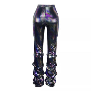 Multicolor Go-go Pants