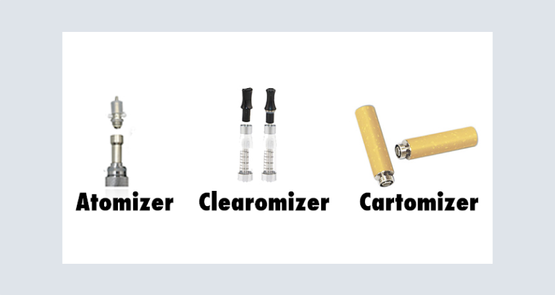 Atomizers, Clearomizers, and Cartomizers