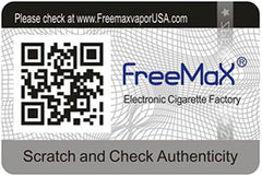 Freemax Product Authentication Image QR Code
