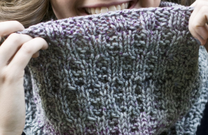 Free Pattern Friday 3D Cowl