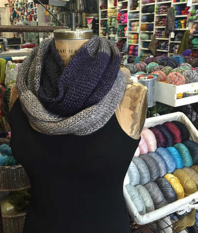 Three Color Cowl - Lace Lux
