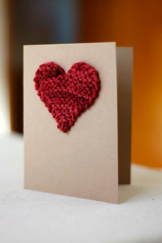 ImagiKnit's Free Pattern Friday - Valentine's Heart