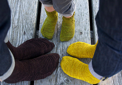 Rye Socks by Tin Can Knits - Featured on ImagiKnit.com