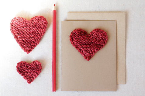 Free Valentine's Day Heart Pattern on ImagiKnit.com
