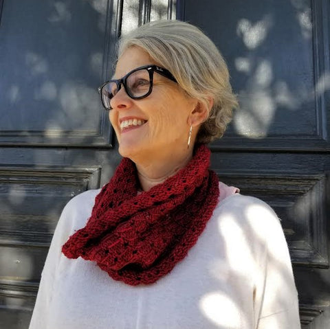 Free Pattern Friday The Bleeding Heart Cowl