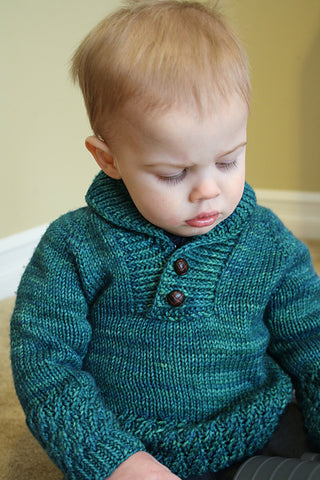 Boy Sweater for Malabrigo March 2016
