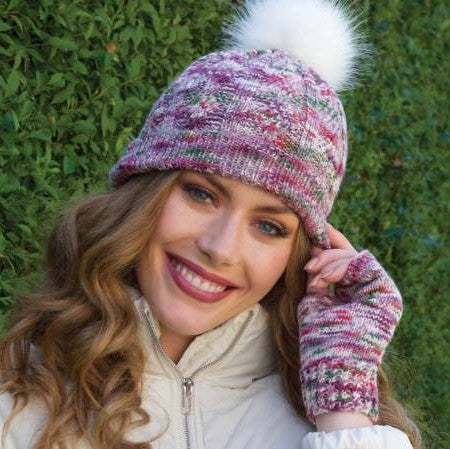 Free Pattern Friday Sophy Hat and Wristwarmers