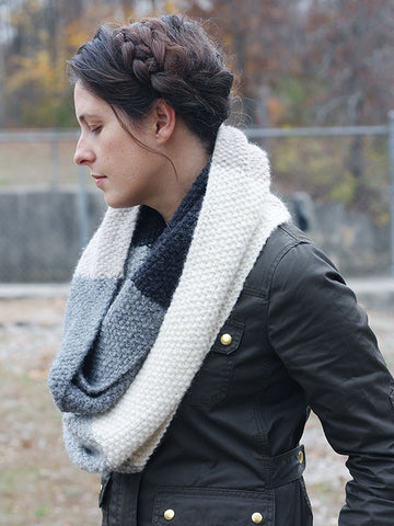 Mille Cowl using Berroco North Star