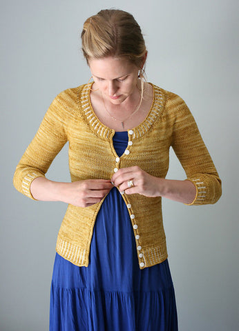 Yarniad Safrani Cardigan for Malabrigo March 2016