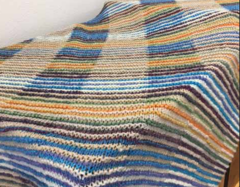 Free Pattern Friday Shadow Afghan