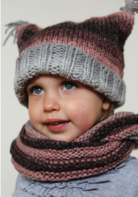 Season Toddler Hat and Scarf