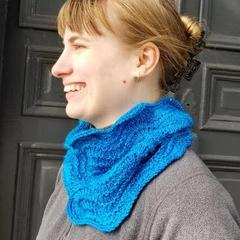 Blue Waves Cowl