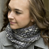 Knotted Openwork Cowl Free PDF Download
