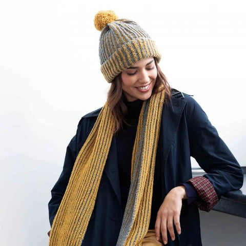 Kashwool Hat and Scarf Free PDF Download