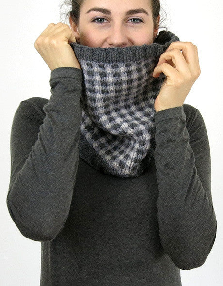 Checked Cowl by Cocoknits
