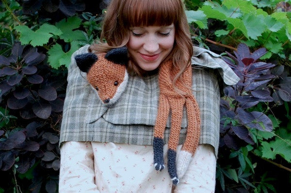 Mr. Fox Stole my Heart by Tiny Owl Knits
