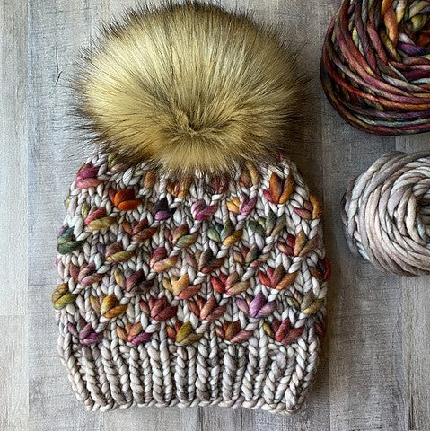 Lotus  Flower Beanie Kit
