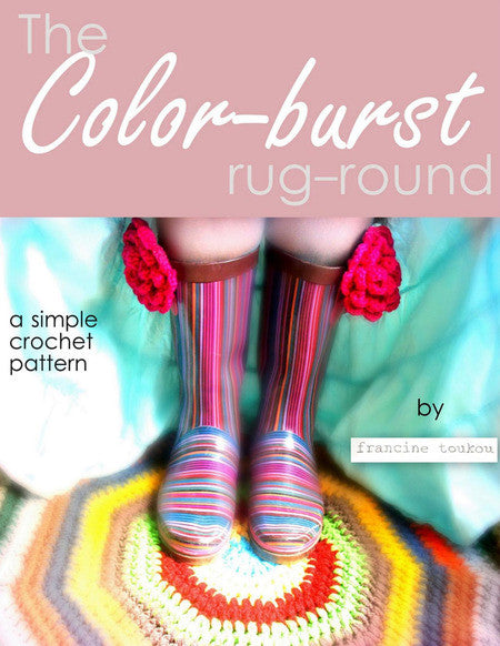Colorburst Rug by Francine Toukou