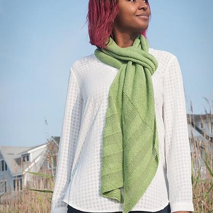 Grass and Stone Scarf Kit
